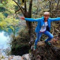 А подо мной вертикаль водопада :: Taina Fainberg
