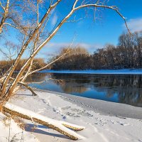 У незамерзающей реки :: Любовь Потеряхина
