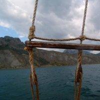Отдых на море, Крым. Морская прогулка на Карадаг-4. :: Руслан Грицунь