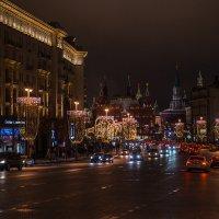 Москва предновогодняя. Тверская улица :: Андрей Левин