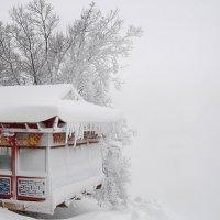 Ресторан над зимней пропастью :: Сергей Тагиров