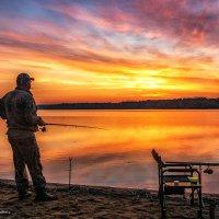 На утренней рыбалке :: Наталия Горюнова