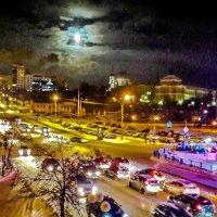 Лунные вечер 13 декабря... :: Копыткина Юлия