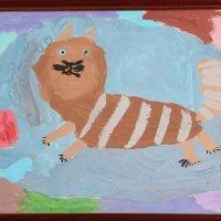 Но только котики летают вдохновенно.... :: Tatiana Markova