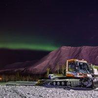 Начало полярного сияния :: Алиса Кондрашова