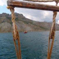 Отдых на море, Крым. Морская прогулка на Карадаг-9. :: Руслан Грицунь