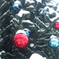 Снежные игрушки :: Елена Семигина