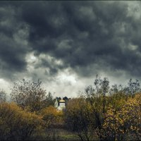 Сельский храм. :: Виктор Сосунов
