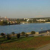 Город на Ангаре :: Евгений Карский