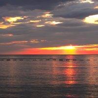 Закат над Адриатикой.Черногория. :: Татьяна Калинкина