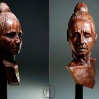 "Бюст-миниатюра ""Ацтек"" :: Galina"
