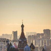 вид на Покровский собор со смотровой площадки на шестом этаже Детского Мира :: Максим Должанский