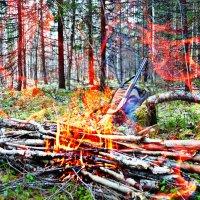 Огонь. :: Андрей Генинг.