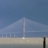 Гавр . Pont de Normandie :: mikhail