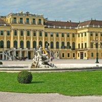 Северный фасад дворца Шеннбрун :: Олег Попков