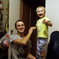 Сын с внуком :: Алексей Логинов