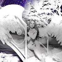 Снежный ангел :: Oxana Krepchuk