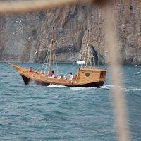 Отдых на море, Крым. Морская прогулка на Карадаг-18. :: Руслан Грицунь