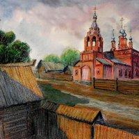 Рязань.Церковь Благовещения.1673 г. :: Лесо-Вед (Баранов)