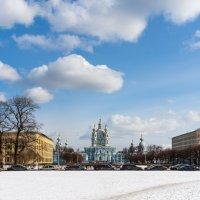 Вид на Смольный собор :: Виталий