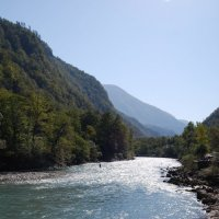 река Бзыбь :: Нелли *