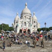 Сакре-Кёр - самый большой храм Парижа :: Владимир Леликов