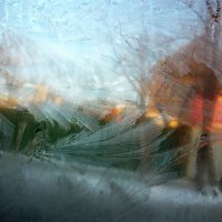 Легкий рисунок мороза! :: Надежда