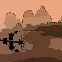 рыбалка с бакланами :: Владимир Беляев ( GusLjar )