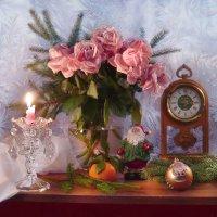 И снова в дверь стучится Новый год... :: Валентина Колова