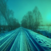 Морозная дымка :: Александр Новиков