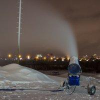 Снеговая пушка :: Дима Пискунов