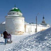 Рязань.Спасский монастырь.Впервые упоминается в 1467г. :: Лесо-Вед (Баранов)