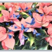 Цветы и бабочки. :: Anatol Livtsov