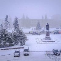 И всё терялось в снежной мгле, седой и белой... :: Копыткина Юлия