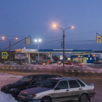 Зимний вечер :: Дмитрий Костоусов
