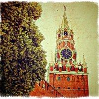 Часы на Спасской башне... :: Андрей Головкин