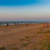 Вечерний пляж :: Алексей Лейба
