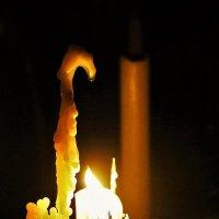 Догорающая свеча :: Сергей Чиняев