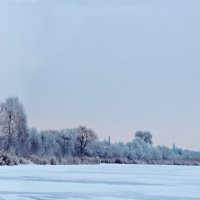 Зимний вечер на околице :: Добрый Ёж