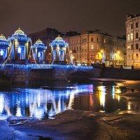 Мост Ломоносова. :: Алексей Шуманов