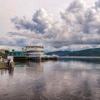 2013 год, вода в Амуре стремительно подымается. :: Виктор Иванович