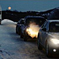 Североморск. Полярная ночь... :: Кай-8 (Ярослав) Забелин