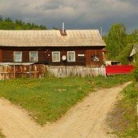 Домик в деревне :: Людмила Мозер