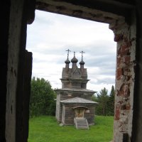 Пермогорье. Церковь Георгия Победоносца. 1665 г. :: Алексей Хохлов