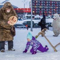 Посвящение в Снежного Человека :: Алиса Кондрашова