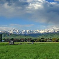Киргизский хребет и Чуйская долина :: GalLinna Ерошенко