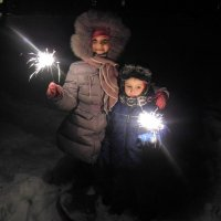 Хорошо, что Новый год! :: Олег Афанасьевич Сергеев