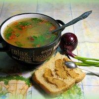 Супчику поесть горячего, да с потрошками! :: Андрей Заломленков