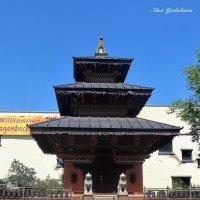 Пагода у входа в зоопарк :: Nina Yudicheva