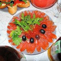 Форель к новогоднему столу. :: Мила Бовкун